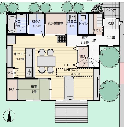 住宅設備の「(費用・面積)対効果」について考えてみる②(スペース編)
