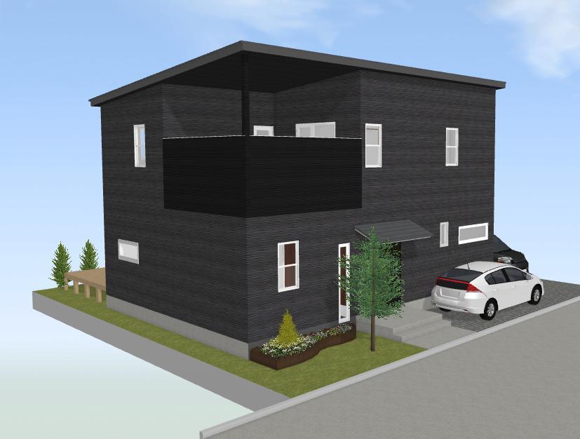 最近のニーズを全て満たした38坪の家(南西リビング)